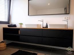 badmöbel schwarz matt waschtischbeckenunterschrank matt