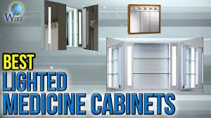 Kohler Verdera Recessed Medicine Cabinet by 7 Best Lighted Medicine Cabinets 2017 Youtube