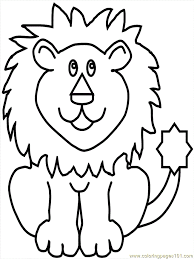 Coloring Pages Lion15 Mammals Tiger