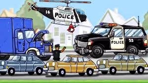 100 Tow Truck Phoenix Police Car Ambulance Helicopter Diggers For Children