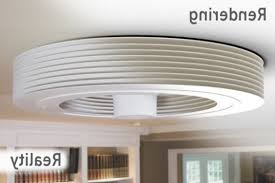 Bladeless Ceiling Fan With Led Light by Exhale Fans 翼風 World 1st Bladeless Ceiling Fan With Led Light