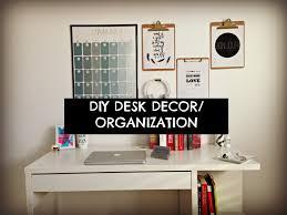 cute cheap and easy diy desk decor organization youtube