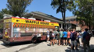 100 Food Trucks Baton Rouge Waffle House Food Truck Brings Breakfast Goodness To Your Special Event
