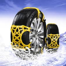 100 Truck Chains AUMOHALL 6PCS TPU Tyres Snow Universal Anti Skid For