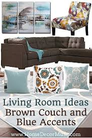 Home Decorating With Brown Couches by How To Decorate Dark Brown Sofa Okaycreations Net