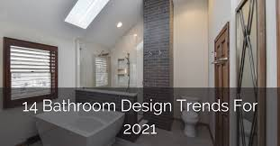 Bathroom Trends 2021 We Our Home Inspired By 14 Bathroom Design Trends For 2021 Home Remodeling
