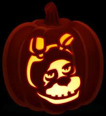 Freddy Krueger Pumpkin by Bonnie Orange And Black Pumpkins