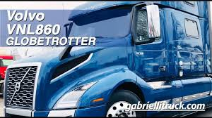 100 Gabrielli Trucks Volvo VNL860 Sleeper GLOBETROTTER YouTube