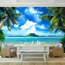 details zu fototapete strand und meer vliestapete blau wohnzimmer schlafzimmer modern