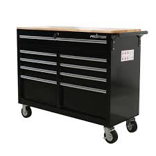 Frontier RECONDITIONED 46 In. 9-Drawer Mobile Workbench, Tool Chest ...