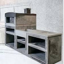 meuble cuisine exterieure bois meuble cuisine exterieure bois cuisine dactac contemporaine four a