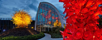 Glass Blown Pumpkins Seattle by Chihuly Garden And Glass Collections Café