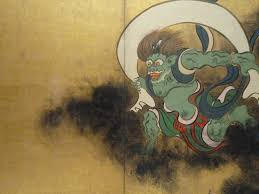 Portrait Of Fujin The Shinto Wind God