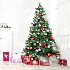 Image Is Loading Green 7Ft Christmas Tree Artificial Unlit Premium Spruce