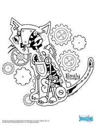 Coloriage Gratuit EMILY THE STRANGE