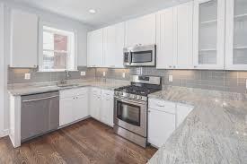 backsplash amazing gray subway tile kitchen backsplash