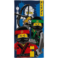 LEGO TOWELS & PONCHOS CHILDRENS COTTON BEACH TOWEL STAR WARS DC