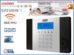 kit alarme maison sans fil gsm meian 15 éléments promo