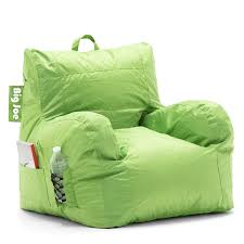Big Joe Lumin Bean Bag Chair by Amazon Com Big Joe Dorm Chair Spicy Lime Kitchen U0026 Dining