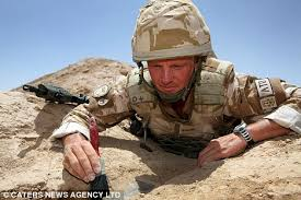 Most Decorated Soldier Uk by Bomb Expert Captain Wayne Owers Defused 93 Devices To Receive