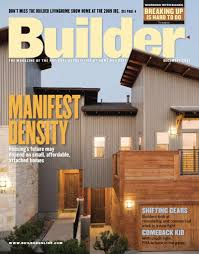 104 Wood Homes Magazine Builder A Hanley Publication Circulation 133 000 House And Home Show Home Builder