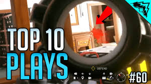 point p siege social headshots top 10 rainbow six siege plays of the week