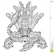VISITEZ FUNAMBULES Coloriage Ermite De Crabe