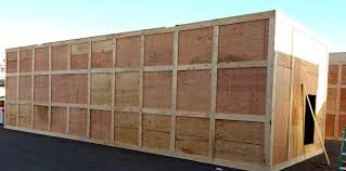 Wooden Crate Shipping Container