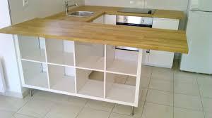 plan de travail ikea cuisine s paration de cuisine avec kallax ikea hack kitchens and bar con