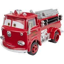 100 Fire Truck Red DisneyPixar Cars 3 Deluxe DieCast Character Walmartcom