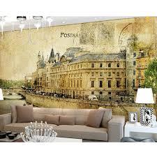 foto tapete nostalgie wandbild tv wohnzimmer sofa schlafzimmer esszimmer kinder zimmer hintergrund retro tapete wandbild