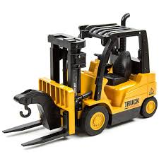 100 Forklift Truck Simulator Toysery Functions Remote Control Toy Play Set Vehicle