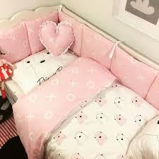 crib bedding baby bedding set sweet baby nursery crib bumper quilt