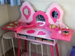 Kidkraft Deluxe Vanity And Chair Set by Little Girls Vanity Table And Chair Unavailable Listing On Etsy