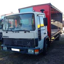 Left Hand Drive Volvo FL611 Turbo 11 Ton Truck. On Springs ...