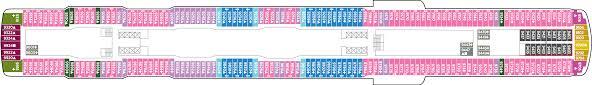 Celebrity Millennium Deck Plans by Cruise Detail Worldwide Cruises