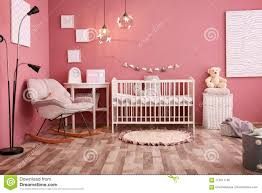 Modern Baby Room Interior With Crib And Rocking Chair Stock ... Indoor Chairs Beautiful Rocking Modern Upholstered Chair For Nursery Homesfeed Baby Shower Ideas Best Option Of Fniture Readies To Mirror Rocking Chair Nursery Royals Courage How Can I Capvating Double Glider With Comfortable Attractive Inexpensive K E A Hack Incredible Sale Design Models Rosaline Room Reveal Baby Girl Interior Livettes Dutailier Classic 827