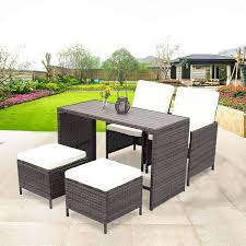 Amazon.com: Wisteria Lane Outdoor Patio Bar Stool Set,5 Piece Dining ... Pplar Ikea Outdoor Ding Sets Komnit Fniture Set In Alinium European Design Saarinen Round Table Hivemoderncom Compare And Choose Reviewing The Best Teak Patio The Home Depot Hampton Bay Alveranda 7piece Metal With Hanover Monaco 7 Pc Two Swivel Chairs Four Alinum Restaurant Chair 5piece Rectangular Bench Barbeques Galore Styles Stone Harbor Taupe Polywood Official Store