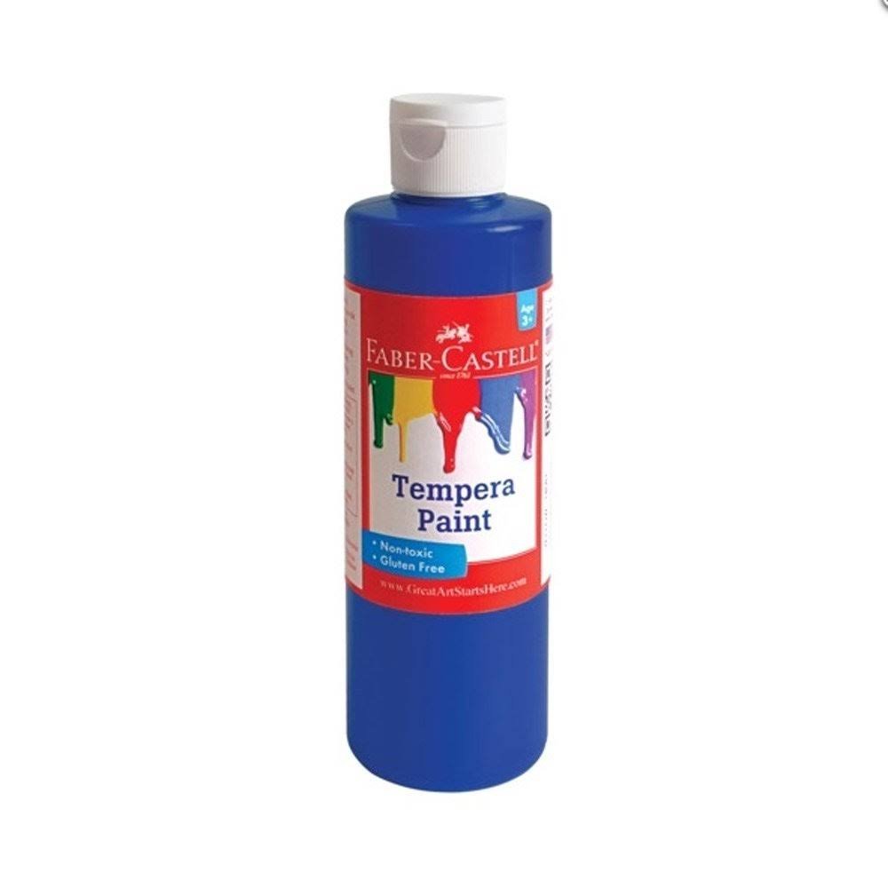 Faber-castell Tempera Paint - Blue, 8oz