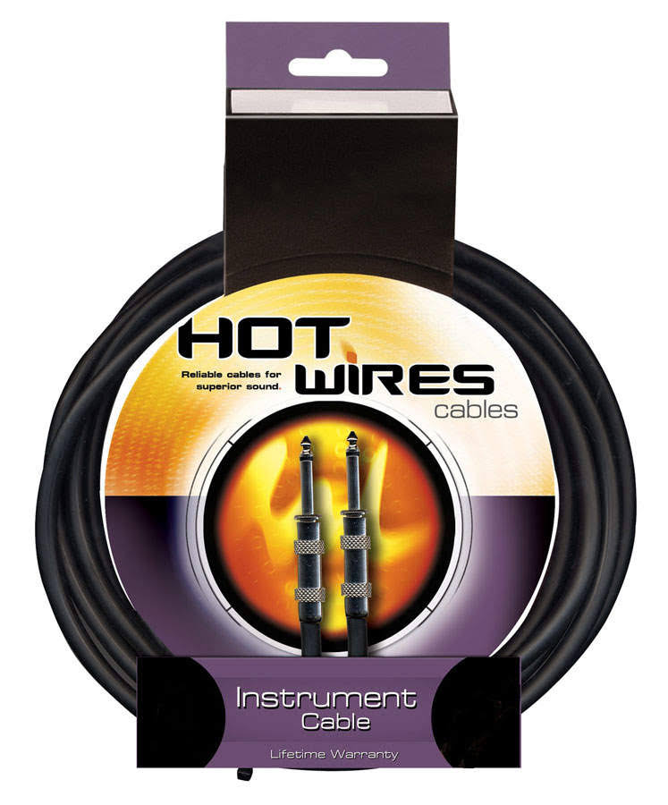 On Stage Hot Wires Guitar Instrument Cable