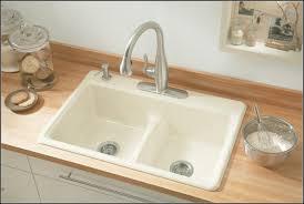 kohler langlade smart divide undermount sink sinks and faucets