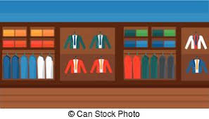 Background Of Clothes Store