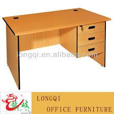 table de bureau pas cher simple et moderne mélamine surface terminer deux tiroir