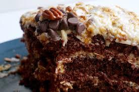 Vegan German Chocolate Cake 3