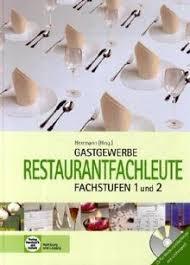 gastronomie restaurantfachleute fachstufen 1 und 2