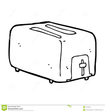 Download Cartoon Toaster Stock Illustration Of Drawing