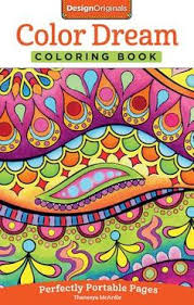 Color Dreams Coloring Book Perfectly Portable Pages Paperback