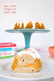 Sour Cream Pumpkin Pie Bundt Cake Recipe
