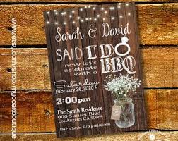 I DO BBQ Invitations Printable Do Barbeque Wedding Reception Only Shower Digital Invitation Country Design
