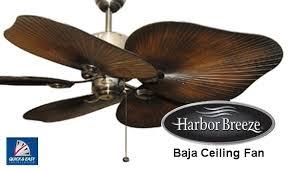 set of 5 white flower ceiling fan blade bracket harbor breeze 44